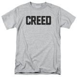 Creed Cracked Logo Adult 18/1 T-Shirt Athletic Heather