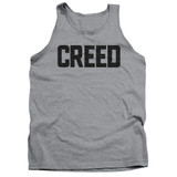 Creed Cracked Logo Adult Tank Top T-Shirt Athletic Heather