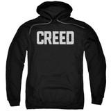 Creed Cracked Logo Adult Pullover Hoodie Sweatshirt Black