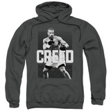 Creed Final Round Adult Pullover Hoodie Sweatshirt Charcoal