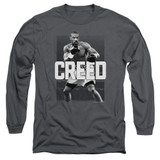 Creed Final Round Adult Long Sleeve T-Shirt Charcoal