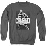 Creed Final Round Adult Crewneck Sweatshirt Charcoal