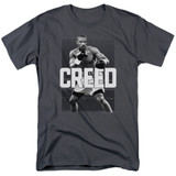 Creed Final Round Adult 18/1 T-Shirt Charcoal