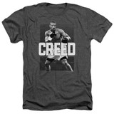 Creed Final Round Adult Heather T-Shirt Charcoal