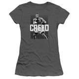Creed Final Round Junior Women's Sheer T-Shirt Charcoal