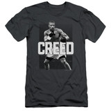 Creed Final Round Adult 30/1 T-Shirt Charcoal