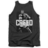 Creed Final Round Adult Tank Top T-Shirt Charcoal