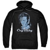 Cry Baby King Cry Baby Adult Pullover Hoodie Sweatshirt Black