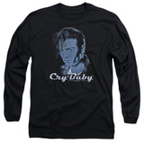 Cry Baby King Cry Baby Adult Long Sleeve T-Shirt Black
