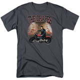 Cry Baby Drapes Adult 18/1 T-Shirt Charcoal
