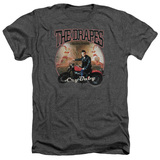 Cry Baby Drapes Adult Heather T-Shirt Charcoal