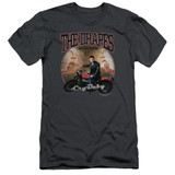 Cry Baby Drapes Adult 30/1 T-Shirt Charcoal