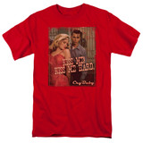 Cry Baby Kiss Me Adult 18/1 T-Shirt Red