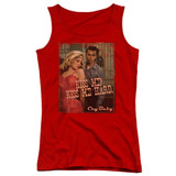 Cry Baby Kiss Me Junior Women's Tank Top T-Shirt Red