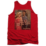 Cry Baby Kiss Me Adult Tank Top T-Shirt Red