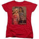 Cry Baby Kiss Me Women's T-Shirt Red