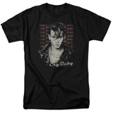 Cry Baby Drapes and Squares Adult 18/1 T-Shirt Black