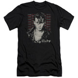 Cry Baby Drapes and Squares Premium Canvas Adult Slim Fit T-Shirt Black