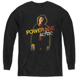 AC/DC Powerage Youth Long Sleeve T-Shirt Black