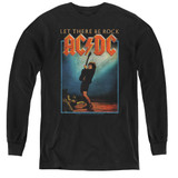 AC/DC Let There Be Rock Youth Long Sleeve T-Shirt Black