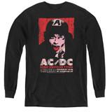 AC/DC High Voltage Live 1975 Youth Long Sleeve T-Shirt Black