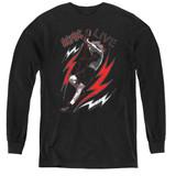 AC/DC Live Youth Long Sleeve T-Shirt Black