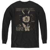 AC/DC My Friends Youth Long Sleeve T-Shirt Black