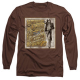 Steven Tyler Aerosmith Somebody From Somewhere Adult Long Sleeve T-Shirt Coffee