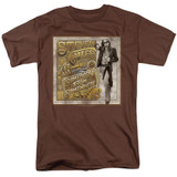 Steven Tyler Aerosmith Somebody From Somewhere Adult 18/1 T-Shirt Coffee