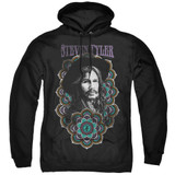 Steven Tyler Aerosmith Mandala Adult Pullover Hoodie Sweatshirt Black