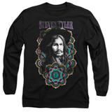 Steven Tyler Aerosmith Mandala Adult Long Sleeve T-Shirt Black