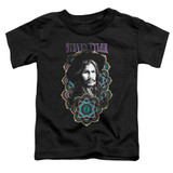 Steven Tyler Aerosmith Mandala Toddler T-Shirt Black