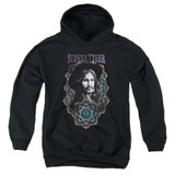 Steven Tyler Aerosmith Mandala Youth Pullover Hoodie Sweatshirt Black