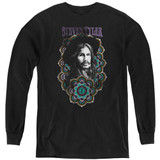 Steven Tyler Aerosmith Mandala Youth Long Sleeve T-Shirt Black