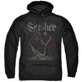 Seether Reaper Adult Pullover Hoodie Sweatshirt Black