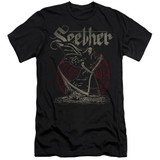 Seether Reaper Adult 30/1 T-Shirt Black