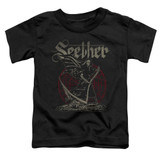 Seether Reaper Toddler T-Shirt Black