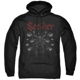Seether Arachnoid Adult Pullover Hoodie Sweatshirt Black