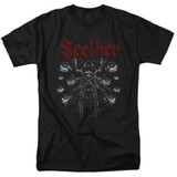 Seether Arachnoid Adult 18/1 T-Shirt Black