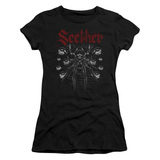 Seether Arachnoid Junior Women's Sheer T-Shirt Black