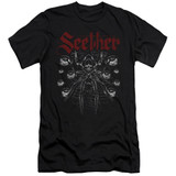 Seether Arachnoid Premium Adult 30/1 T-Shirt Black