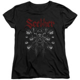 Seether Arachnoid Women's T-Shirt Black
