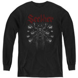 Seether Arachnoid Youth Long Sleeve T-Shirt Black