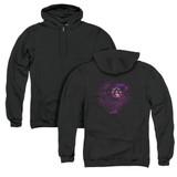 Steve Vai Vai Universe (Back Print) Adult Zip Hoodie Sweatshirt Black