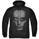 Steve Vai Vai Head Adult Pullover Hoodie Sweatshirt Black