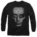 Steve Vai Vai Head Adult Long Sleeve T-Shirt Black