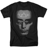 Steve Vai Vai Head Adult 18/1 T-Shirt Black