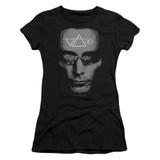 Steve Vai Vai Head Junior Women's Sheer T-Shirt Black