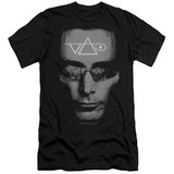 Steve Vai Vai Head Adult 30/1 T-Shirt Black