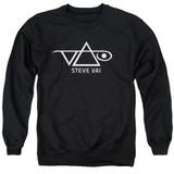 Steve Vai Logo Adult Crewneck Sweatshirt Black